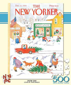 Snow Day (The New Yorker) Christmas Jigsaw Puzzle